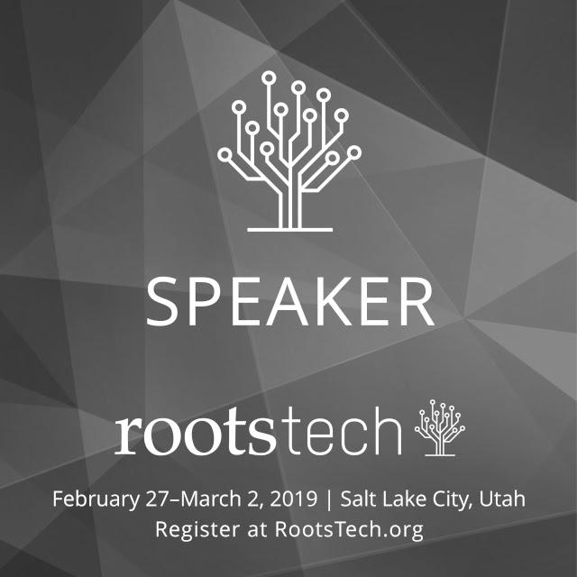 RootsTech Speaker