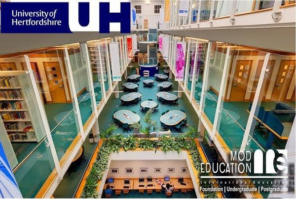 Study at the University of Hertfordshire, UK
