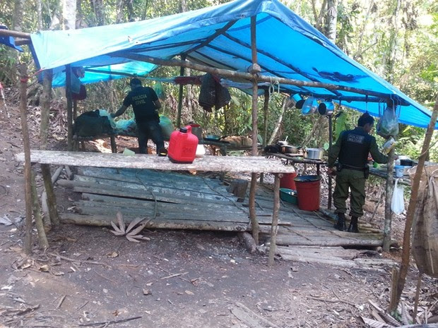 Trabalhadores tinham alojamento precário (Foto: Divulgação / Polícia Civil)