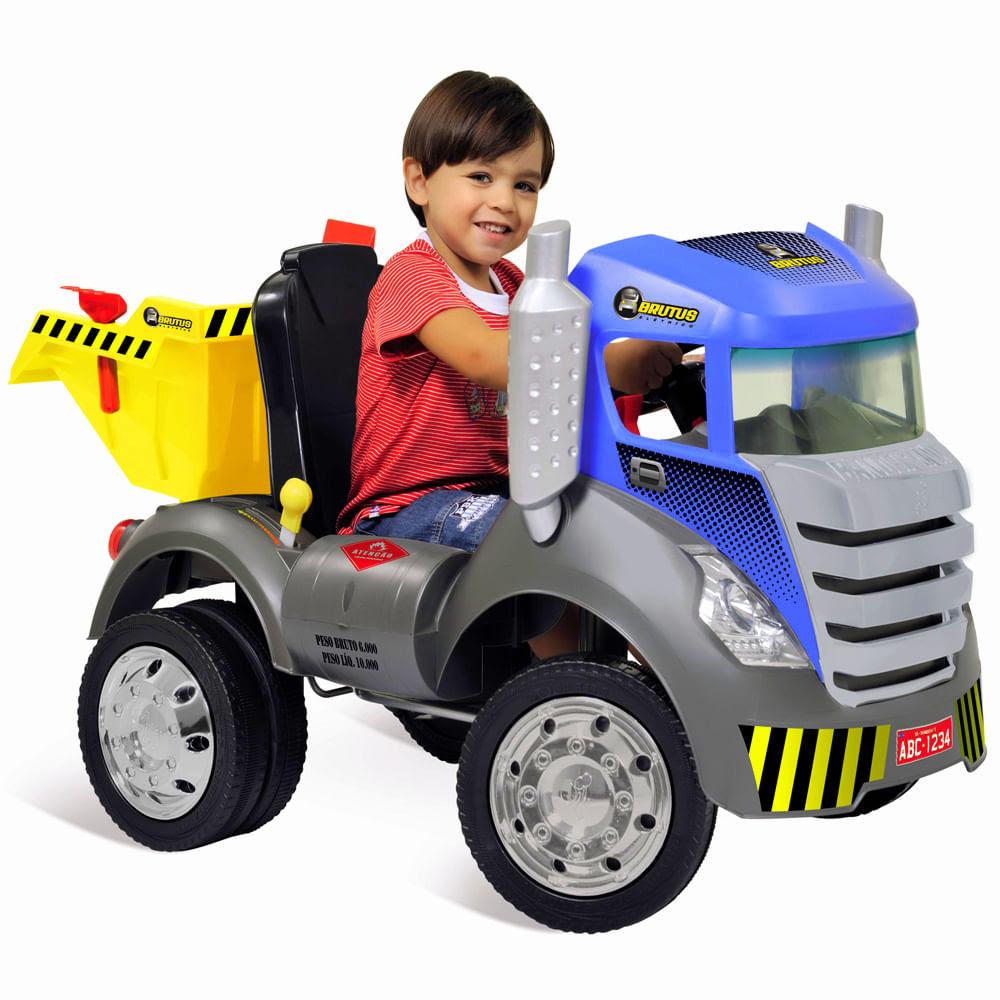 Caminhão Brutus Azul - Bandeirante