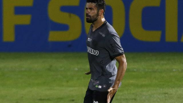 Diego Costa estreia com gol e projeta melhora física para fortalecer Atlético-MG