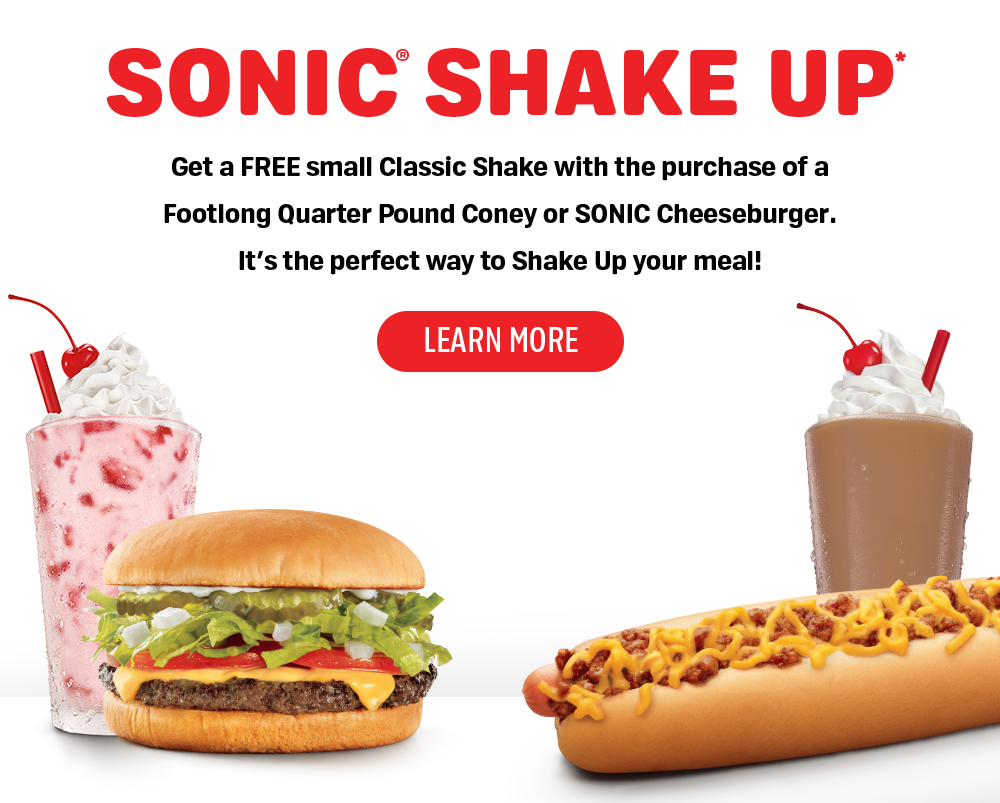 Try the SONIC Shake-Up!