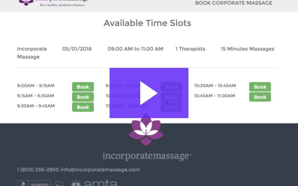 Massage Event Scheduling Software: What You Need to Know