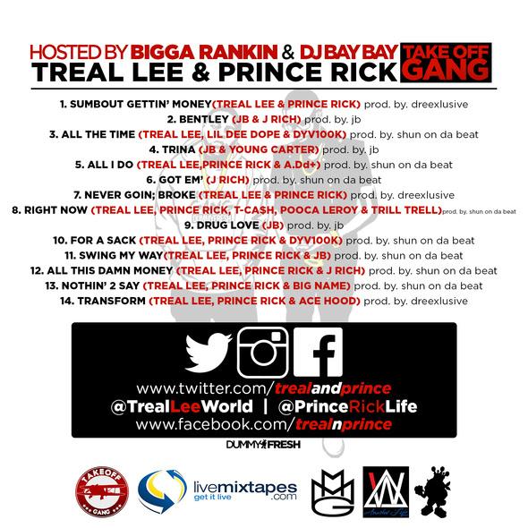 treallee princerick tracklist
