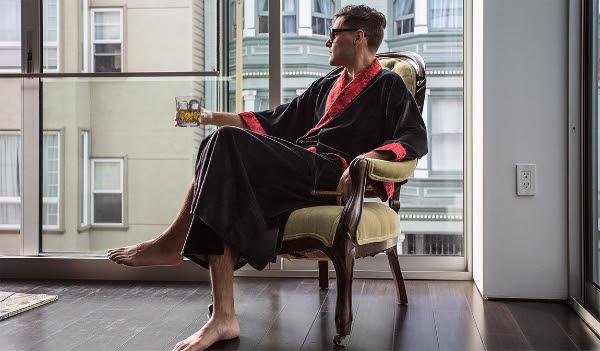 Smoking Robe