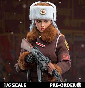 Red Alert Soviet Female Officer Katyusha 1/6 Scale Figure