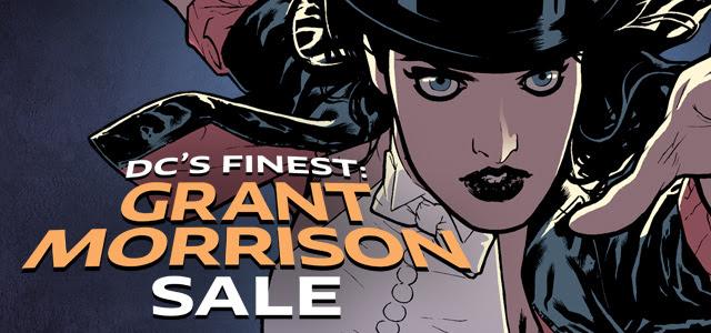 Grant Morrison Sale