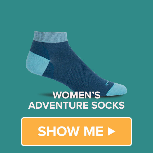 We have a great range of Women's Socks on sale at Bivouac Outdoor in Store and Online