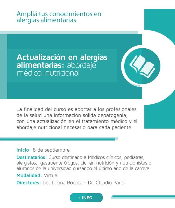 Actualización en alergias alimentarias: abordaje médico-nutricional