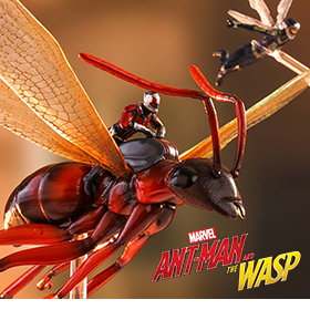 ANT-MAN & THE WASP MINIATURE COLLECTIBLE SET