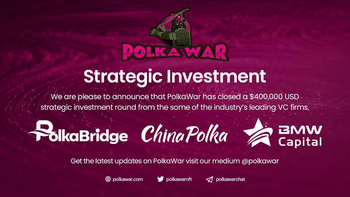 PolkaWar,an Innovative NFT Fighting Game Platform 2