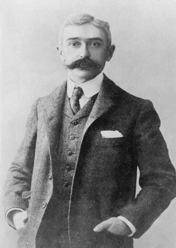 Baron Pierre de Coubertin