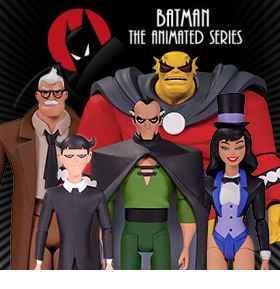 BATMAN THE ANIMATED SERIES/THE NEW BATMAN ADVENTURES