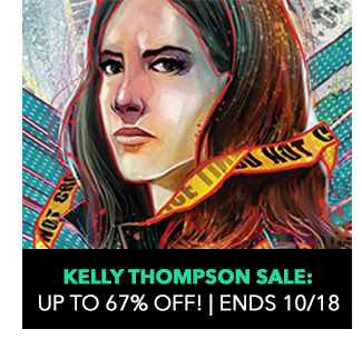 Kelly Thompson Sale: up to 67% off! Sale ends 10/18.