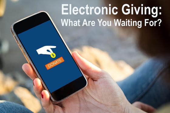 Recording of ELectronic Giving Webinar