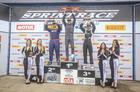 Pódio da primeira corrida na categoria GP (Luciano Santos/SigCom)