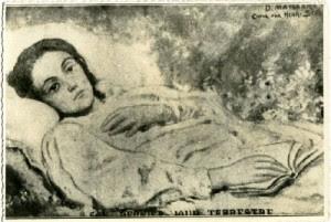 Pe patul de moarte