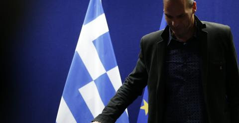 Yanis Varoufakis. REUTERS