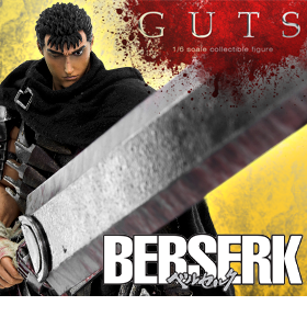 BESERK 1/6 SCALE GUTS FIGURE