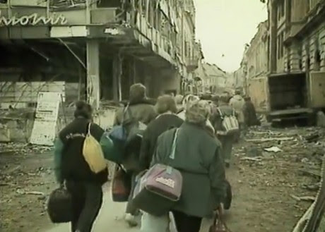 Croats forced to leave their towns  in their hundreds of thousands  by August 1995