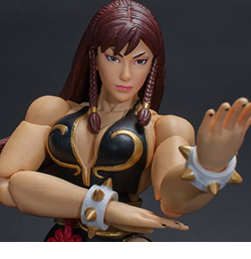 Street Fighter V Chun-Li (Arcade Edition) 1/12 Scale NYCC 2018 Exclusive Figure