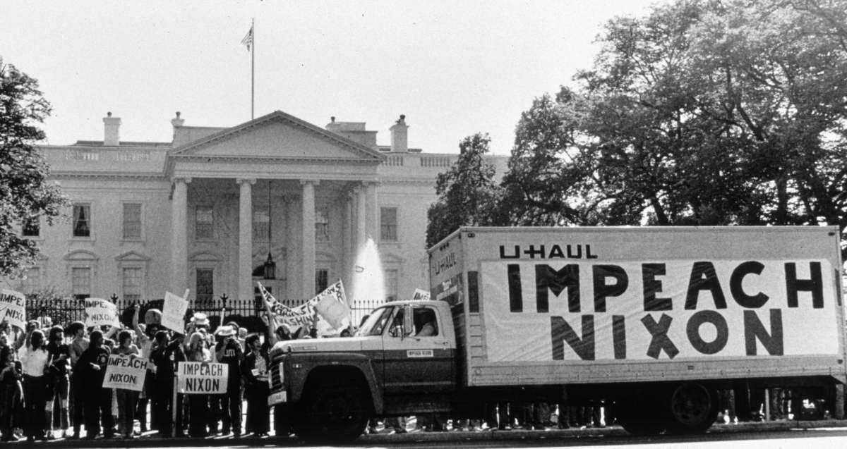 Impeach Nixon protests