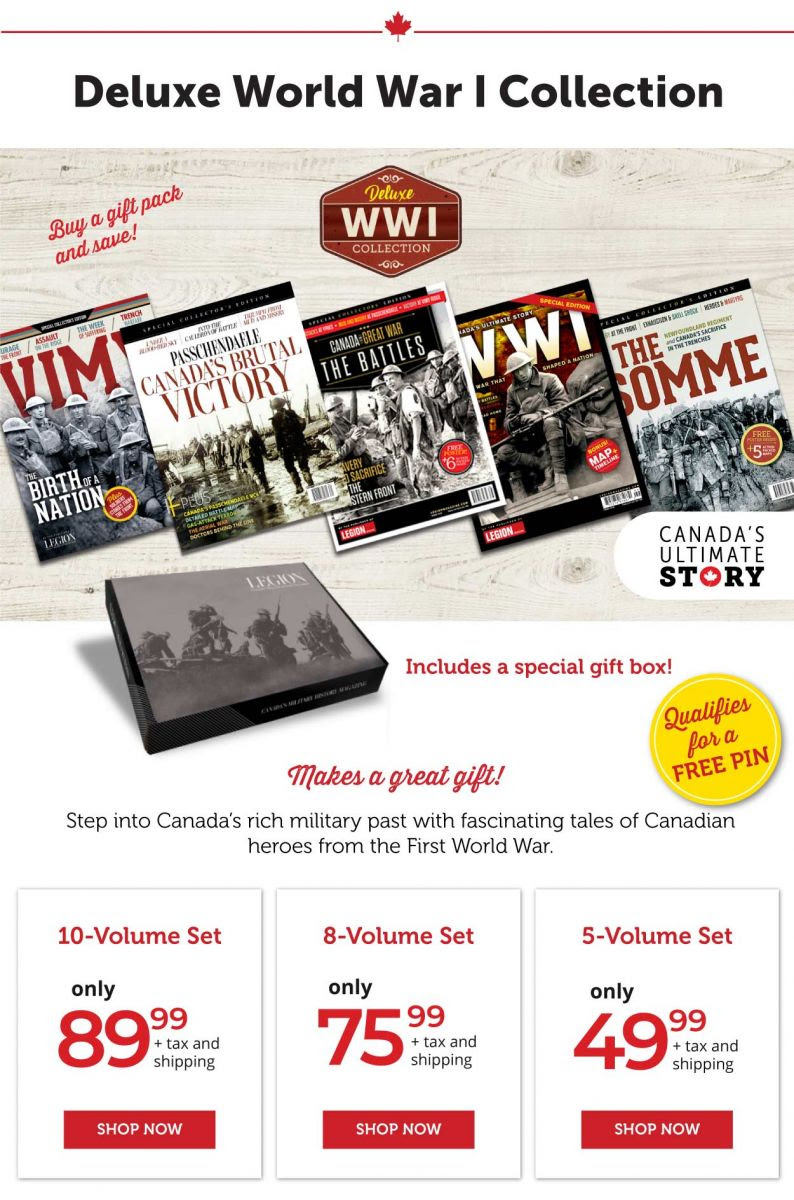 Canada's Ultimate Story - World War I Collection