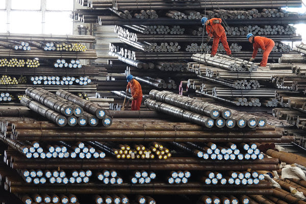 A steel factory in Dalian, China. The Trump administration has placed tariffs on a number of items, including electronic touch screens, iron and steel plates, medical devices, aircraft parts, batteries and other Chinese products.