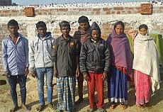 Members of the Christian community in Kubuaa village, Jharkhand state. (Global Christian News)