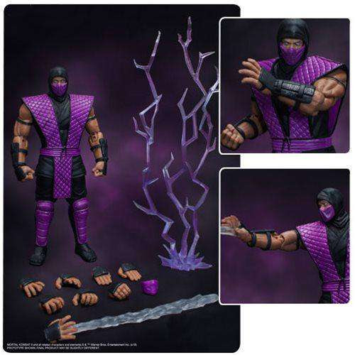 Image of Mortal Kombat Rain 1:12 Scale Action Figure - NYCC 2018 Exclusive