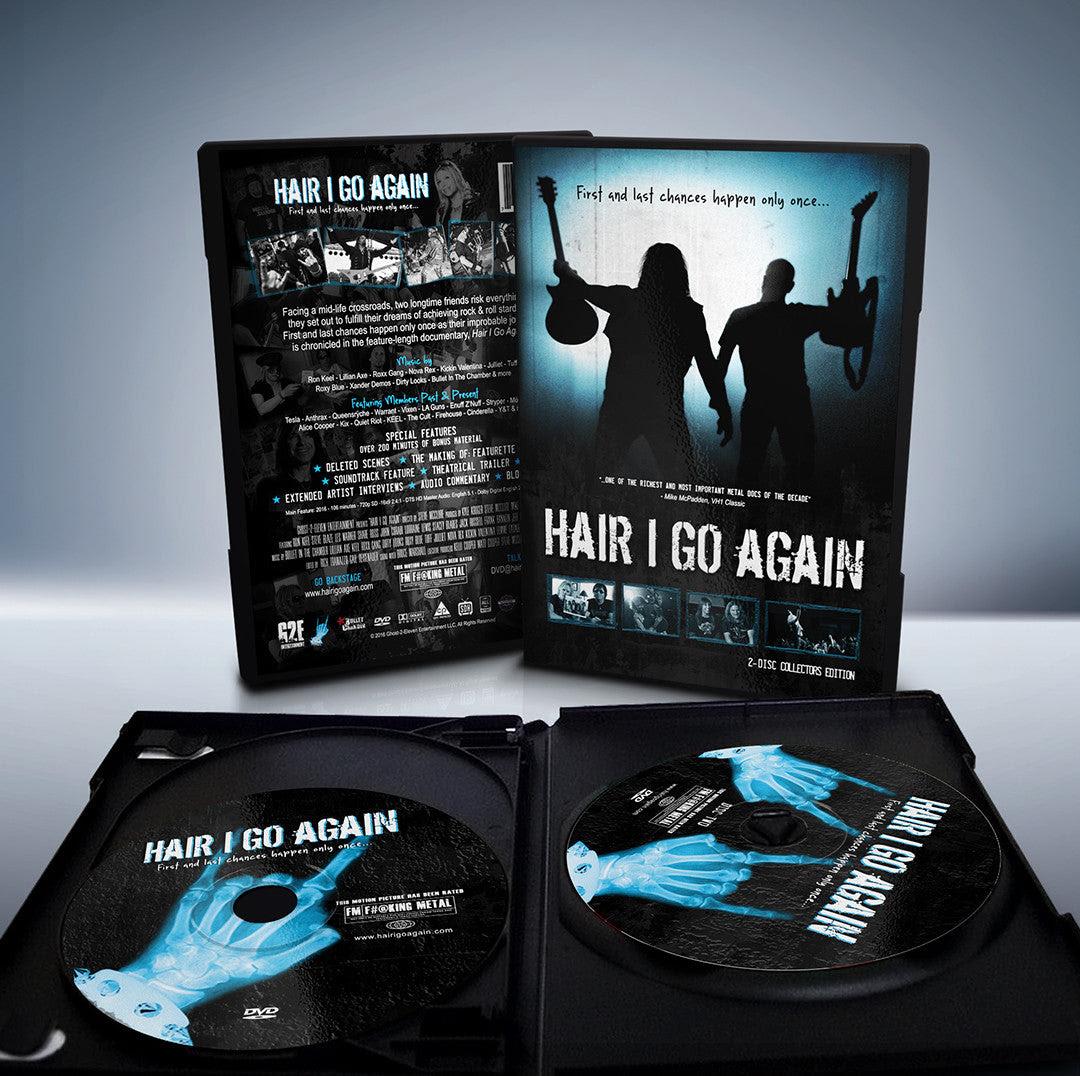 Hair I Go Again DVD 2-Disc Collector's Edition