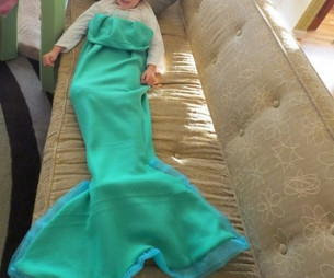 Mermaid DIY Snuggie