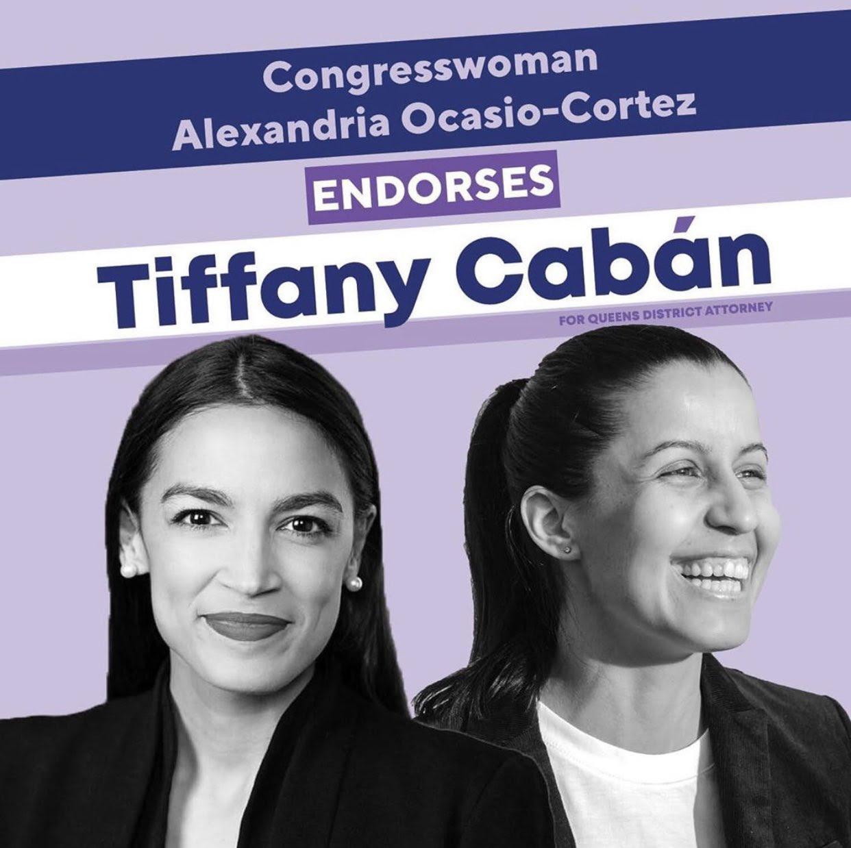 AOC endorses Tiffany Cabán!