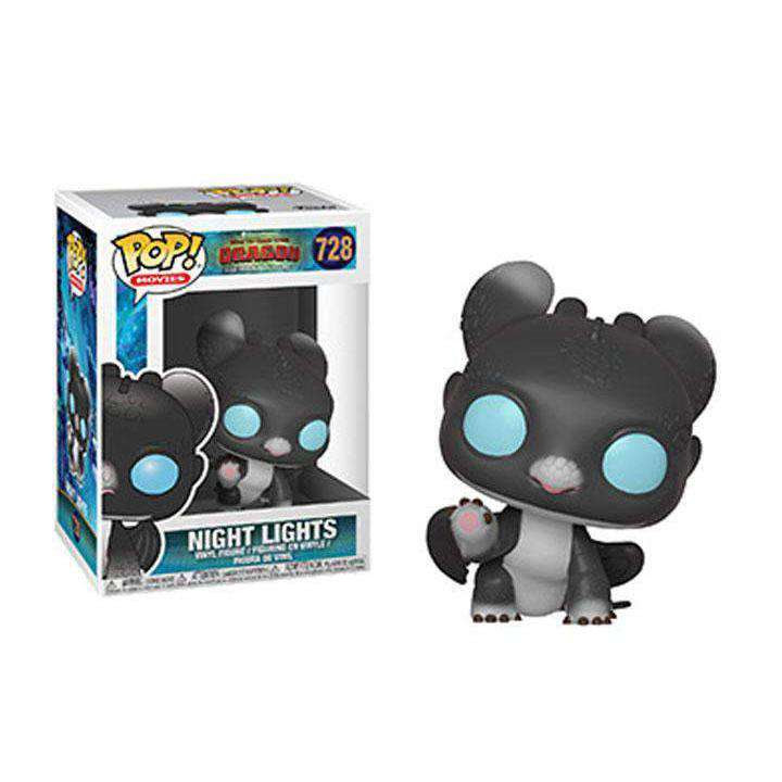 Image of Pop! Movies: How to Train Your Dragon: The Hidden World - Night Lights No.728 - Q1 2019