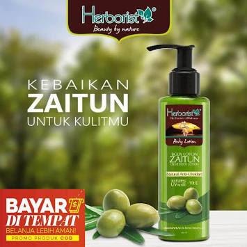 Herborist Pemutih Badan/ Whitening Body Lotion Zaitun 145ml - Original- BPOM- Hand Body Lotion- Lotion Pemutih Badan - Lotion Zaitun