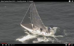 J/105 Jester flying upwind in Fastnet Race