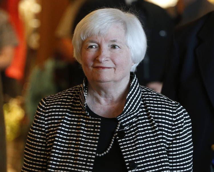 Federal Reserve Board Chair Janet Yellen. (Brennan Linsley/AP)