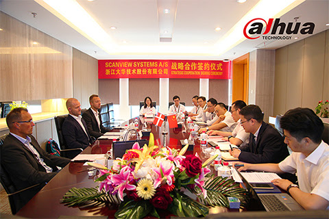 La tecnología de Dahua asegura una asociación estratégica con los sistemas Scanview