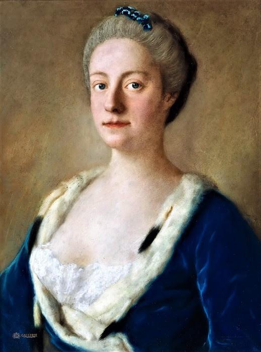 Портрет Мери Дубле ван Грёнштайн, леди Холдернесс    1745   40 х 30     Берлин, Музей Берггрюна (519x700, 90Kb)
