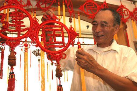 Китайское плетение узелков