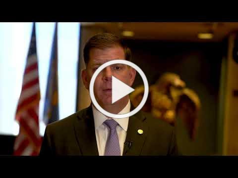 Mayor Walsh offers remarks on the importance of Juneteenth