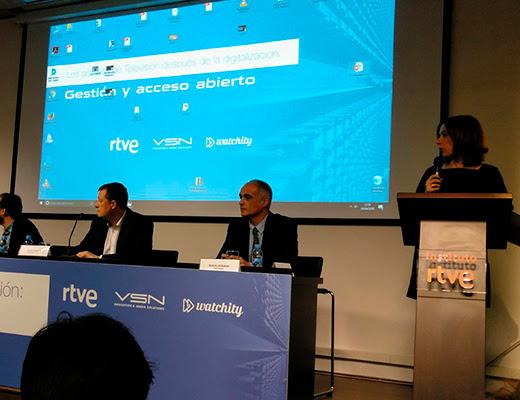 Éxito total de las Jornadas dearchivo de RTVE con VSN