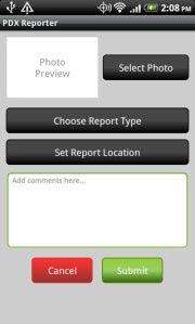 PDX Reporter App