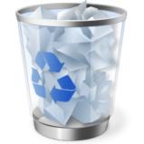 papelera de reciclaje - Inmortalidad artificial