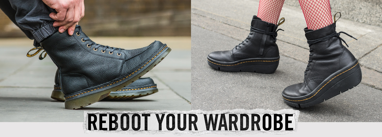 Reboot your wardrobe - Check out our stylish new boots, shoes and accessories - SHOP NOW
