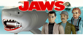JAWS REACTION RETRO FIGURES