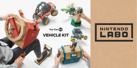 Nintendo Labo Toy-Con 03 Vehicle Kit