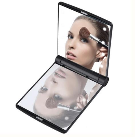 Miroir de Poche Led Noir