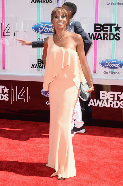 Actress Holly Robinson Peete attends the BET AWARDS '14 at Nokia Theatre L.A. LIVE on June 29, 2014 in Los Angeles, California.