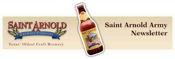 Saint Arnold Army Newsletter